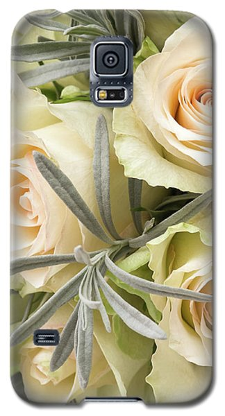 Wedding Flowers Galaxy S5 Case