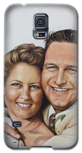 Wedding Portrait Jeremy N Katie Galaxy S5 Case