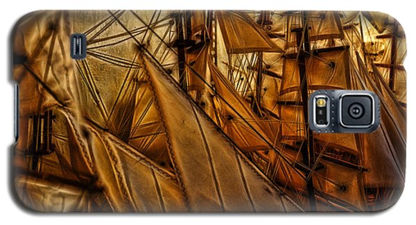 Galaxy S5 Case featuring the photograph Wee Sails by Cameron Wood