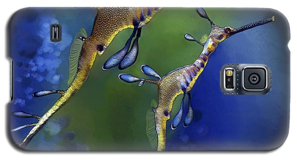 Weedy Sea Dragon Galaxy S5 Case by Thanh Thuy Nguyen