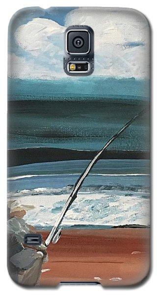 Weekend Fisherman Galaxy S5 Case