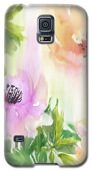 Galaxy S5 Case featuring the painting Weeping Rose Forest by Colleen Taylor