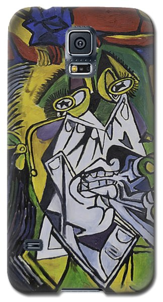 Picasso's Weeping Woman Galaxy S5 Case