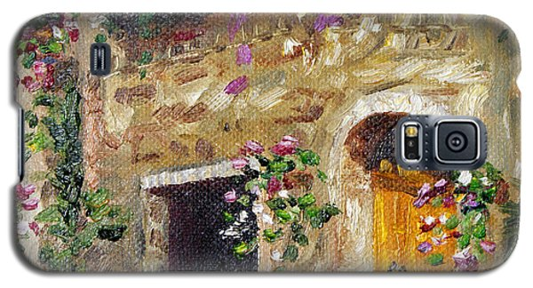 Galaxy S5 Case featuring the painting Welcome Home by Jennifer Beaudet