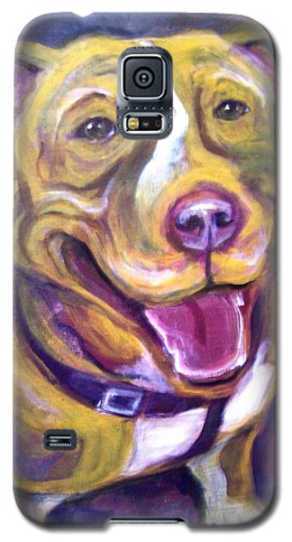 Galaxy S5 Case featuring the painting Welcome Home by Laura Aceto