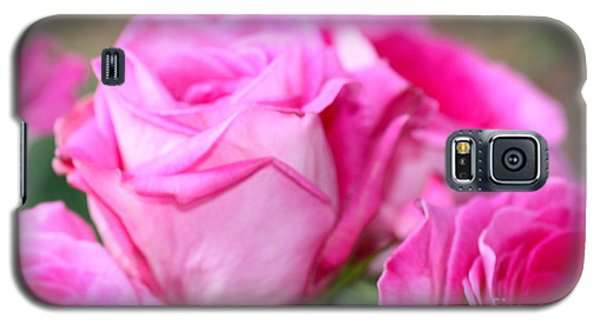 Welcome In Pink Galaxy S5 Case by Cathy Dee Janes