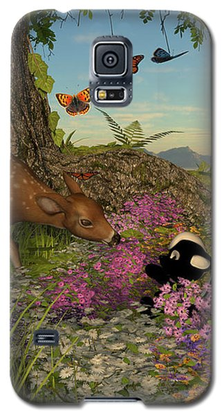 Welcome Spring Galaxy S5 Case by Methune Hively