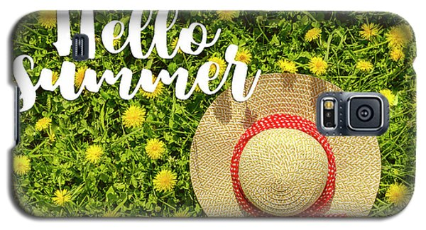 Galaxy S5 Case featuring the photograph Welcome Summer by Teri Virbickis