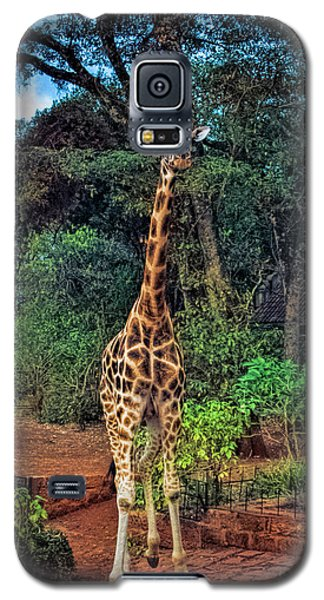 Welcome To Giraffe Manor Galaxy S5 Case