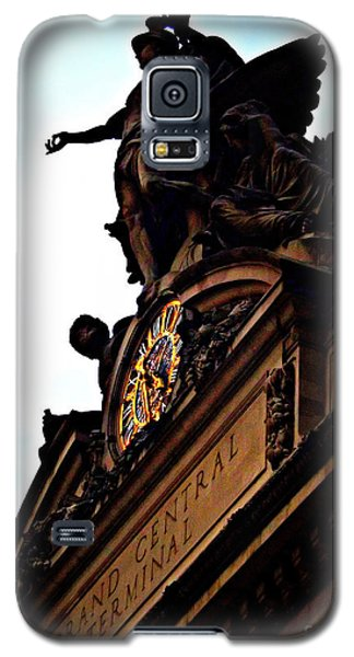 Welcome To Grand Central Galaxy S5 Case by James Aiken