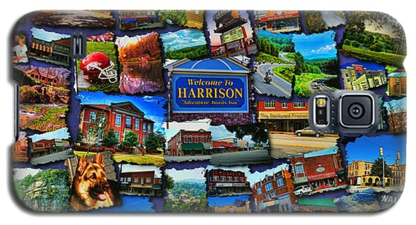 Welcome To Harrison Arkansas Galaxy S5 Case