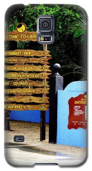 Welcome To Labadee Galaxy S5 Case by Shelley Neff