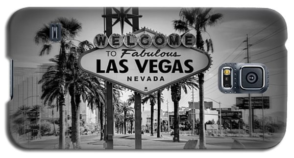 Welcome To Las Vegas Series Holga Black And White Galaxy S5 Case