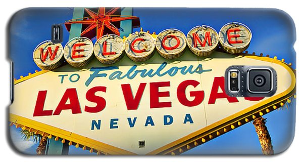 Welcome To Las Vegas Sign Galaxy S5 Case