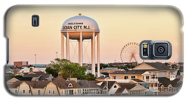 Welcome To Ocean City, Nj Galaxy S5 Case