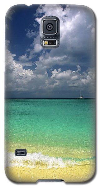 Welcome To Paradise Galaxy S5 Case by Marie Hicks