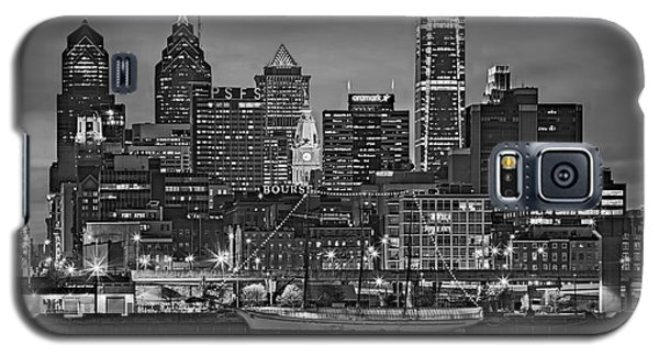 Welcome To Penn's Landing Bw Galaxy S5 Case