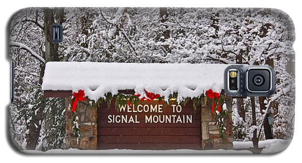 Welcome To Signal Mountain Galaxy S5 Case