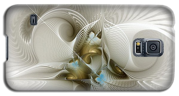Welcome To The Second Floor-fractal Art Galaxy S5 Case