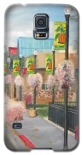 Galaxy S5 Case featuring the painting Welcome To Vernal by Sherril Porter
