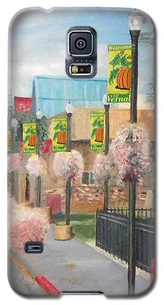 Welcome To Vernal Galaxy S5 Case by Sherril Porter
