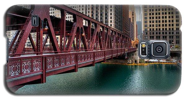 Well Street Bridge, Chicago Galaxy S5 Case