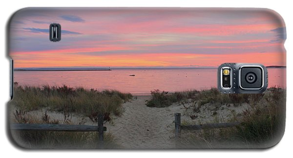 Wellfleet Harbor Sunset From Mayo Beach Galaxy S5 Case by John Burk