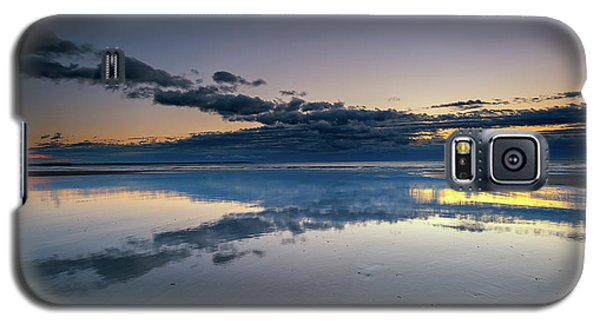 Galaxy S5 Case featuring the photograph Wells Beach Reflections by Rick Berk