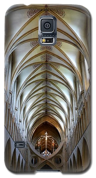 Wells Cathedral Ceiling  Galaxy S5 Case