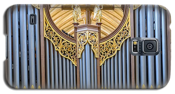 Wells Cathedral Organ Galaxy S5 Case by Colin Rayner