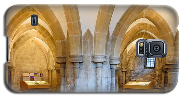 Wells Cathedral Undercroft Galaxy S5 Case