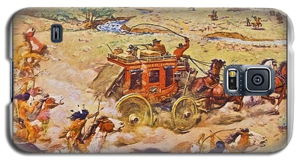 Wells Fargo Express Old Western Galaxy S5 Case