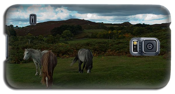 Galaxy S5 Case featuring the photograph Welsh Mountain Pony's  by Lynn Hughes