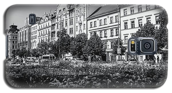 Galaxy S5 Case featuring the photograph Wenceslas Square In Prague by Jenny Rainbow