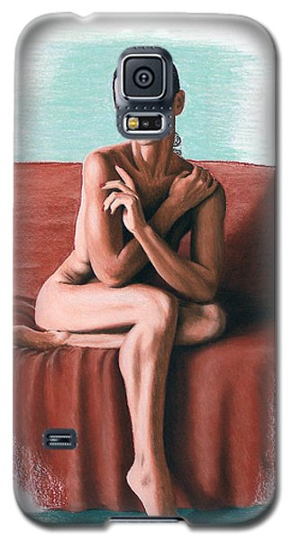 Galaxy S5 Case featuring the painting Wenona  Exposed by Joseph Ogle