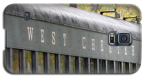 West Chester Railroad - Passenger Car Galaxy S5 Case