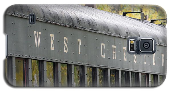 West Chester Railroad - Passenger Car Galaxy S5 Case