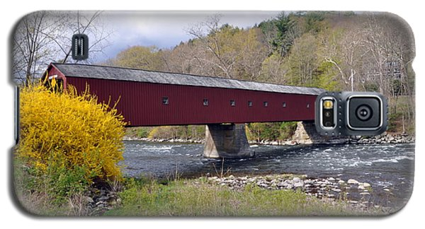West Cornwall Ct Covered Bridge Galaxy S5 Case