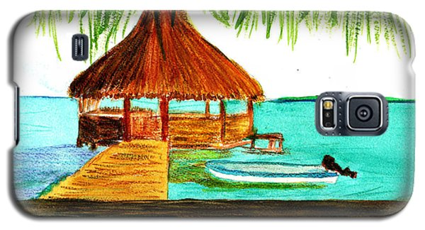 West End Roatan Galaxy S5 Case by Donna Walsh
