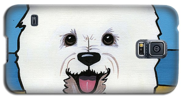 West Highland Terrier Galaxy S5 Case