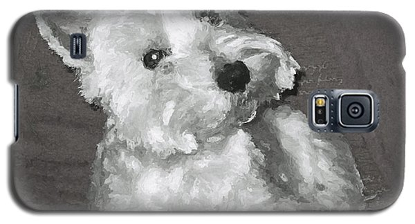 Galaxy S5 Case featuring the digital art West Highland White Terrier by Charmaine Zoe