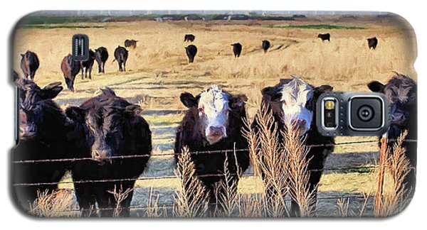 Galaxy S5 Case featuring the digital art West Kansas Economics by JC Findley