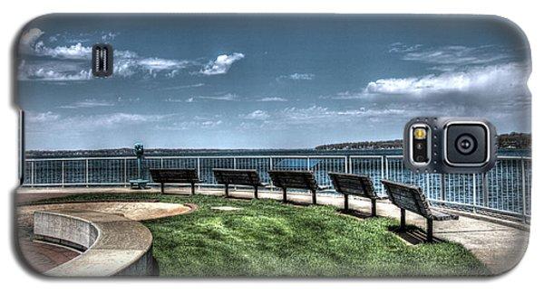 West Lake Okoboji Pier Galaxy S5 Case