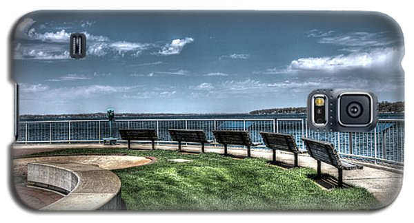 West Lake Okoboji Pier Galaxy S5 Case
