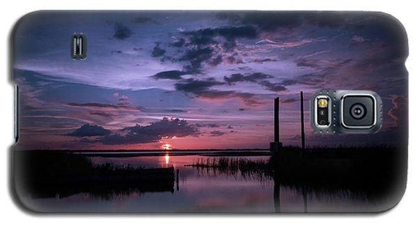 West Lake Toho Blu Indigo Sunset Galaxy S5 Case
