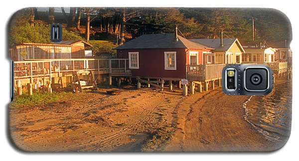Galaxy S5 Case featuring the photograph West Marin Nick's Cove Cottages by Dianne Levy
