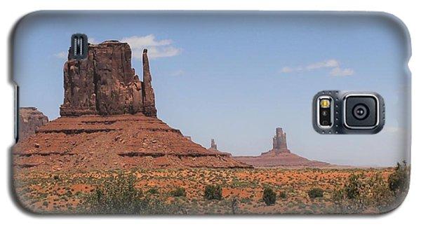 West Mitten Butte Monument Valley Galaxy S5 Case