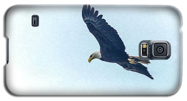 Galaxy S5 Case featuring the photograph West Point American Eagle. by Terry Cosgrave