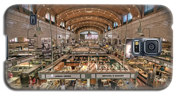 Galaxy S5 Case featuring the photograph West Side Market by Brent Durken