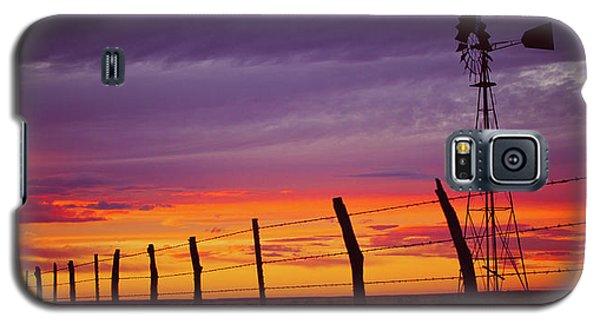 West Texas Sunset Galaxy S5 Case